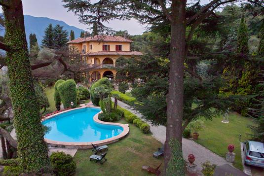 Il parco di Villa La Collina | Lake Como Ville